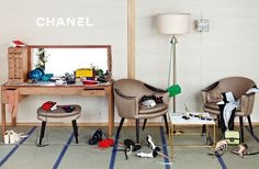 Chanel Spring/Summer 2013 Ad Campaigns shot by Karl Lagerfeld.