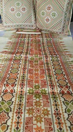 تطريز فلسطيني cross stitch Palestinian Embroidery