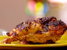 Get this all-star, easy-to-follow Food Network Grilled Chicken with Dijon and Meyer Lemon recipe from Anne Burrell.