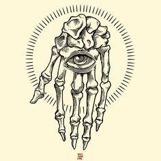 Skeleton Hand.