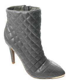 Take a look at the Gray Petra Bootie on #zulily today!
