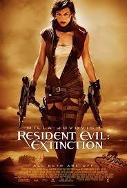 resident evil extincion el mundo se extingue y busca una sivilisacion ya sabiendo que tiene poderes