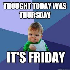TGIF! What are you doing this weekend?