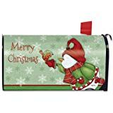 Briarwood Lane Merry Christmas Magnetic Mailbox Cover Snowman Cardinal