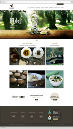 Gallo by Nádia Carmo, via Behance | #webdesign #it #web #design #layout #userinterface #website #webdesign <<< repinned by an #advertising #agency from #Hamburg / #Germany - www.BlickeDeeler.de | Follow us on www.facebook.com/BlickeDeeler