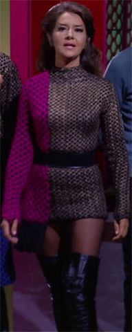 startrekattackwing.com Old-skool Romulan female officer from Star Trek