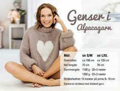 nille: Gjør det selv: Strikk genser i Alpacagarn