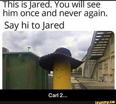 Picture memes 6 comments — iFunny This is Jared. He has made a return because he is actually a trickster. Say hi to Jared. – popular memes on the site Really Funny Memes, Stupid Funny Memes, Funny Relatable Memes, Funny Posts, Funny Stuff, Random Stuff, Funny Things, Funny Cute, Hilarious