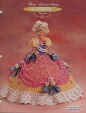 Annie's Glorious Gowns Belle of the Ball Deirdre Crochet Doll Pattern Booklet