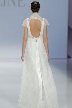 50 vestidos de novia con escote a la espalda 2017: ¡los querrás todos! Image: 11