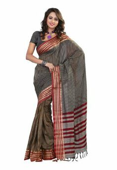 Fabdeal Indian Designer Grey Cotton Plain Saree Fabdeal Inc, http://www.amazon.fr/dp/B00IL78ALU/ref=cm_sw_r_pi_dp_ehtotb1TGAP8J