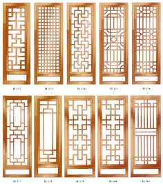 unlimited versatility in a tasteful jacket – Door Ideas Wooden Window Design, Home Window Grill Design, Grill Door Design, Gate Design, House Design, Chinese Interior, Japanese Interior, 3d Templates, Sliding Door Design