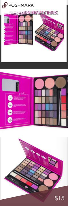 PROFUSION BEAUTY BOOK BRAND NEW 30+ COLORS PROFUSION BEAUTY BOOK  BRAND NEW SEALED NEVER TOUCHED SEE PIC 5 FOR FULL DETAILS GREAT GIFT! ! Profusion Makeup Eyeshadow