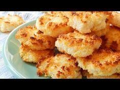 Galletitas de Coco con Leche Condensada (sólo 2 ingredientes) - CUKit! - YouTube