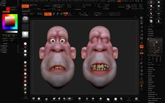 Creating facial Shapes Using Layers in ZBrushComputer Graphics & Digital Art Community for Artist: Job, Tutorial, Art, Concept Art, Portfolio