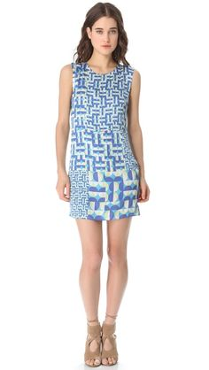 Just bought this. I hope it's going to be just as awesome as it looks! :)  Addison, Peek A Boo Shift Dress