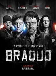 Braquo: best crime/action show tv has seen. What he'd on Hulu. Not sure Netflix has it.