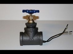 DIY Pipe Lamp Switch made with water faucet handle - YouTube. Pipelamp light switch