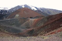 Colors of Mt. Etna, Sicily - province of Messina , Sicily region Italy .