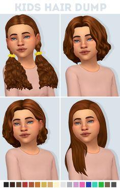 hair kids sims 4 / hair kids girl & hair kids & hair kids boy & hair kids girl easy & hair kids girl short & hair kids girl long & hair kids the sims 4 & hair kids sims 4 Sims Four, Sims 4 Mm Cc, Los Sims 4 Mods, Sims 4 Game Mods, Maxis, Sims 4 Pets, Muebles Sims 4 Cc, The Sims 4 Cabelos, Pelo Sims