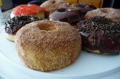 Baked Donuts, not great diet food, but yum!