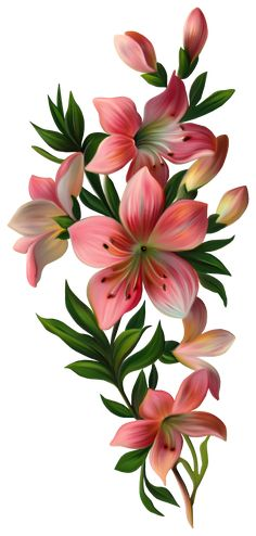 "Photo from album ""Art Flowers"" on Yandex. Arte Floral, Motif Floral, Illustration Blume, Botanical Illustration, Decoupage, Flower Wallpaper, Fabric Painting, Vintage Flowers, Retro Flowers"