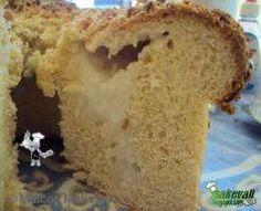 Pão de coco com leite condensado