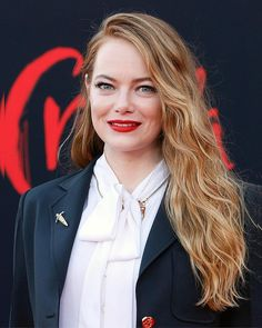 Female Actresses, Emma Stone, Famous People, Instagram, Funny, Hair, Beauty, Actresses, Funny Parenting