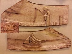 my student work - wood carving