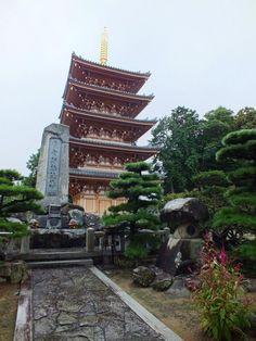 Pagode de Hōnen-ji à Busshōzan