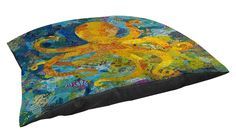 Manual Woodworkers and Weavers Indoor/Outdoor Large Breed Pet Bed, Mosaic Octopus, Multi Colored *** Check out the image by visiting the link. (This is an affiliate link and I receive a commission for the sales) My Pet Dog, Pet Dogs, Pets, Outdoor Cats, Indoor Outdoor, Dog Kennels For Sale, Cool Dog Houses, Orthopedic Dog Bed, Cool Dog Beds