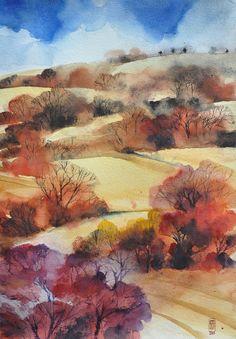 Alessandro Andreuccetti, 1955, Italian, Watercolor | TuttArt