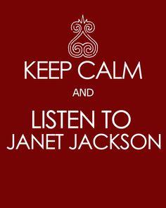 Janet Jackson. Always.