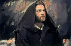 Ben Kenobi Digital (Painted by Dreamscopeapp.com's artificial intelligence) 1263x827