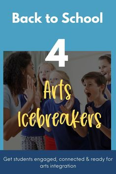 Looking for some ideas on how to help get students engaged, connected & ready for arts integration? You don't want to miss these arts icebreaker activities. Negative And Positive Space, Freeze Dance, Icebreaker Activities, Human Sculpture, Arts Integration, Dance Movement, Classroom Community, Ice Breakers, Self Conscious