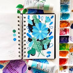 I guess blue is my favorite color now! My Favorite Color, My Favorite Things, Art Hub, Illustrators On Instagram, Gouache Painting, Magazine Art, Floral Watercolor, Cool Art, Spotlight
