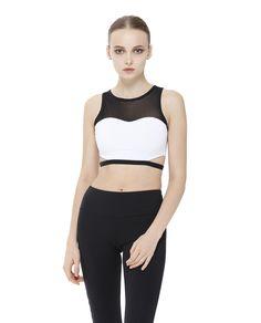 91c7929ef1 2016 New design Women yoga bra Athletic Vest Gym Fitness Sports Mesh Bra  top sujetadores deportivos brassiere sport Gym wear - OneClickMarket