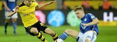 Felix Platte will den Schalker Sturm-Kollegen Beine machen