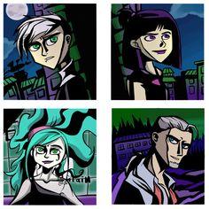 Danny Phantom Favorite characters by Markie96 on DeviantArt