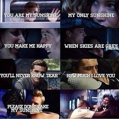 mockingjay part 2 katniss and peeta epilogue - Google Search