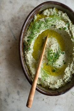 Seed Pâté Recipe - Made of seeds that have been soaked for a stretch and then blended into a creamy, full-bodied puree. Finished with a bit of miso - for flavor, seasoning, and easy nutritional boost. - from 101Cookbooks.com