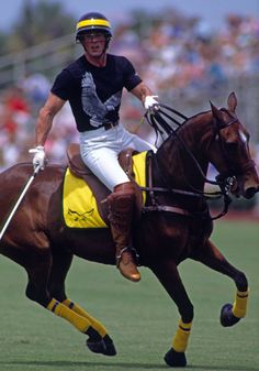 Sylvester Stallone photo courtesy of The Villages Polo Club Screen shot at PM Horse Riding, Riding Boots, Men's Equestrian, Equestrian Fashion, Rocky Film, Silvester Stallone, Polo Horse, Reining Horses, Tommy Lee Jones
