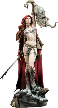 Red Sonja Exclusive Red Sonja Premium Format(TM) Figure | Sideshow Collectibles