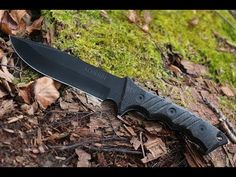 NEW! Schrade SCHF3N Fixed Blade Fine Edge Knife - Best Tactical/Survival...https://youtu.be/ITO7hD0MYkk