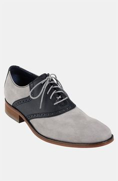 Cole Haan 'Air Colton' Saddle Oxford available at #Nordstrom . Available now (Spring 2013)