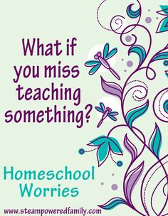Homeschool worries - What if I screw this up?