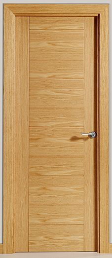 Apartment entrance ebony door veneered plywood finish from - Puertas de madera interiores modernas ...