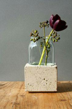 Glass in concrete!!