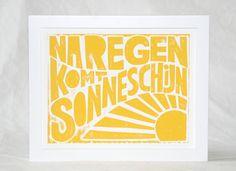 Gezien in 101, 16x20 Na Regen Komt Zonneschijn - After Rain Sunshine Fine art Print
