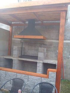 Fotos de QUINCHO PARA ASADOS, PARRILLAS, PERGOLAS Santiago Mirror, Exterior, Furniture, Home Decor, Gardens, Ideas, Kiosk, Charcoal Grill, Barbecue Grill